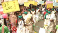 Chennai: Transgender group holds 'Avoid Fear: Corona Awareness Rally'