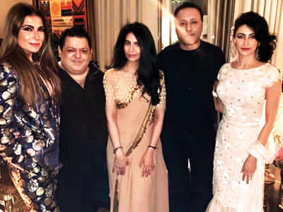 Rohit Gandhi and Rahul Khanna host an intimate Diwali party