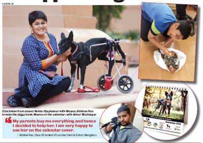 Mangaluru boy breaks his 'bank' to save crippled dog in Bengaluru