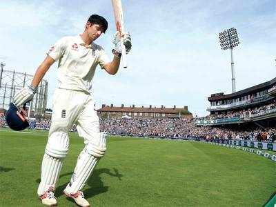 India Vs England Test series: Cook ends Test career with a typically gritty 147 as he adds 259 with Root (125); Anderson and Broad reduce India to 58-3