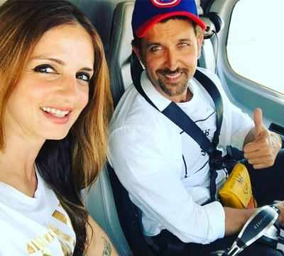 Happy Birthday Hrithik Roshan: Ex-wife Sussanne Khan wishes 'forever sunshine' of her life