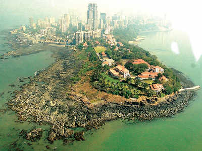 Mumbai: City-based NGO alleges beach at Raj Bhavan is being buried by tetrapods and a small road, sends strongly worded letter
