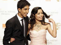 Dev Patel and Freida Pinto still besties