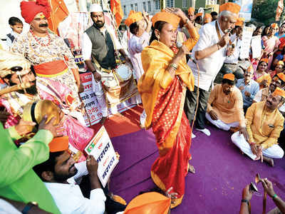 Marathas say fight has just begun
