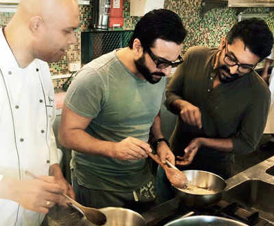 Saif Ali Khan gets training from professional a Chef for his upcoming film