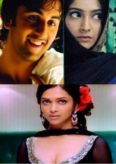 10 years of Deepika Padukone, Sonam Kapoor and Ranbir Kapoor in the film industry