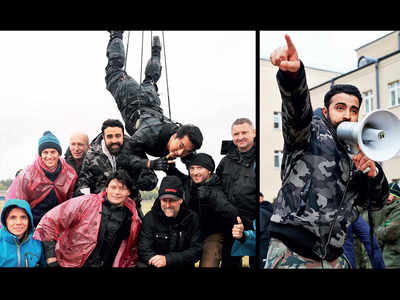 Epic battle for climax of Rinzing Denzongpa's film Squad