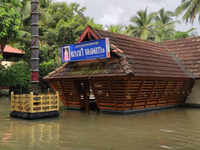 Kerala monsoon rains: Heavy downpour submerges Parapadathamma temple in Velloor