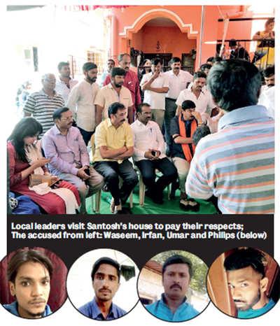 Four arrested for murder of BJP worker in JC Nagar