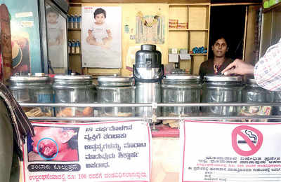 Fire hazard: Cops force paan shops to kick butt