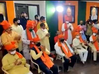 Ram Temple bhoomi pujan: Devendra Fadnavis sings devotional songs at BJP Mumbai office