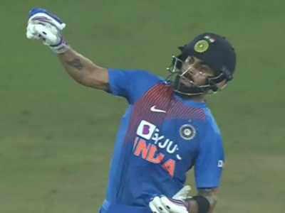 Twitterati has a ball with memes after Virat Kohli's 'notebook' celebration