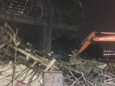 Bengaluru: Two killed, eight injured in under-construction building collapse in Yeshwanthpur