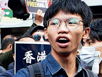 Hong Kong teen activist charged with secession