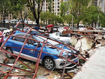 Typhoon Lekima slams China; 18 dead, 14 missing