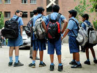 Delhi government issues circular to make school bags lighter