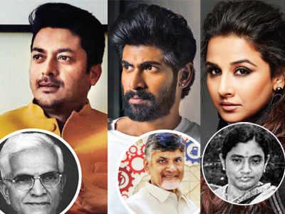 Vidya Balan, Rana Daggubati, Jisshu Sengupta in NTR biopic next