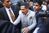 Robert Vadra plays victim card, says land grab charges false