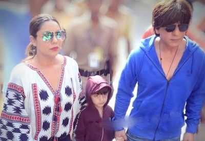 Here's why SRK took AbRam to the polling booth in Mumbai
