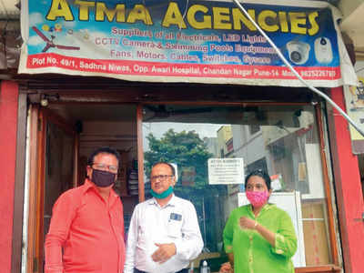 Fake sanitisers flood city