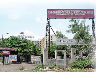 RMD Sinhagad College of Engineering violates SPPU's mandate on font size