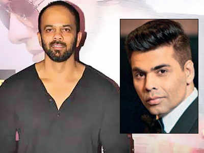 Karan Johar, Rohit Shetty turn rappers