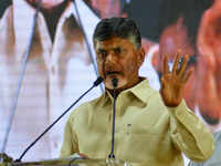 Andhra CM Chandrababu Naidu to meet Telangana TDP leaders over alliance with Congress