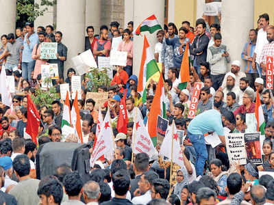 Bengaluru campuses up their defences