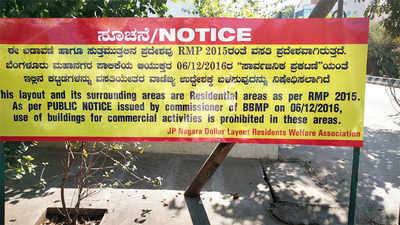 Boards go up to bring down violations