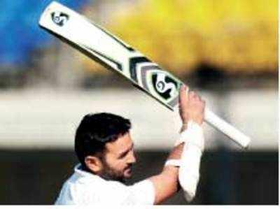 Parthiv Patel gives team lesson in batsmanship as ton puts Gujarat on top