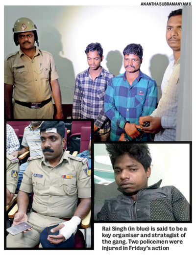 Police track down, take aim, hit out at Bhil Gang