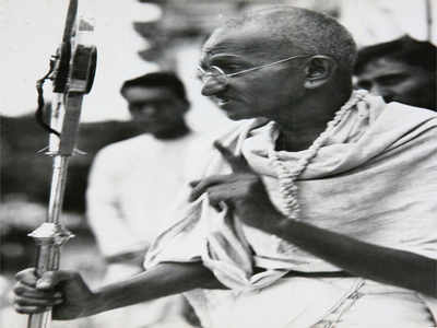 Gandhi's Seventy Fifth Birthday