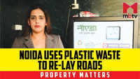 Noida uses plastic waste to re-lay roads
