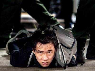 300 held as Hong Kong law kicks in