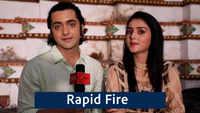 Rapid Fire with RadhaKrishn's Sumedh Mudgalkar and Mallika Singh |Exclusive|