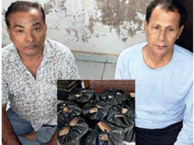 108 IMFL bottles seized from car in Navrangpura