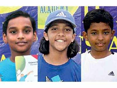 City tennis stars shine