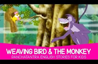 Best Kids English Nursery Story 'Weaving Bird & the Monkey' - Kids Nursery Stories In English