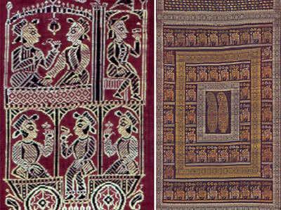 Reviving the lost era of Baluchar silk saris