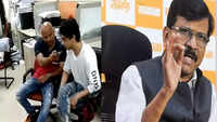 Shiv Sena leader Sanjay Raut alleges NCB made witness sign blank paper