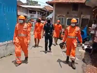 Watch: Locals in Raigad applaud NDRF workers as they carry out restoration work in Murud after cyclone Nisarga