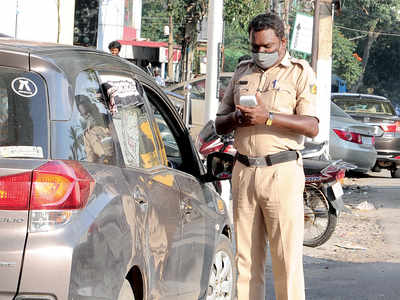 Operation cover-up: Khaki will ensure there are masks on faces, Marshal Law in Bengaluru
