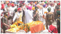 Slain soldier Naik Mandeep Singh accorded with full state honours