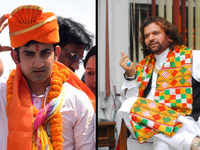 BJP's Gambhir and Hans Raj Hans hold no college degrees