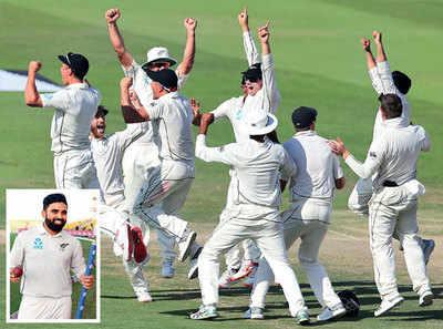 Ajaz Patel, the Mumbaikar, sends Pakistan in a spin