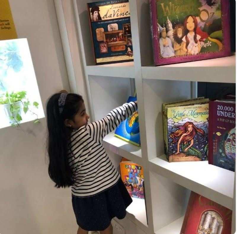 Here's how Twinkle Khanna makes sure Nitara picks up the habit of reading