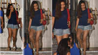 Mira Rajput rocks denim shorts as she steps out for dinner date with hubby Shahid Kapoor