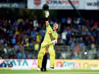 Australia's David Warner, Aaron Finch hand India a humiliating 10-wicket defeat
