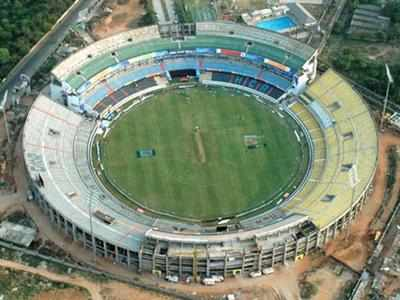 Stadium booked by BJP for grand swearing-in?