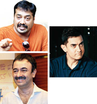 Anurag miffed with Raju-Aamir